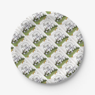 love yorkshire decathlons paper plate