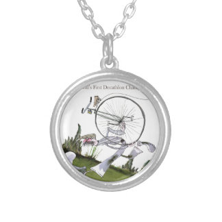 love yorkshire decathlons silver plated necklace
