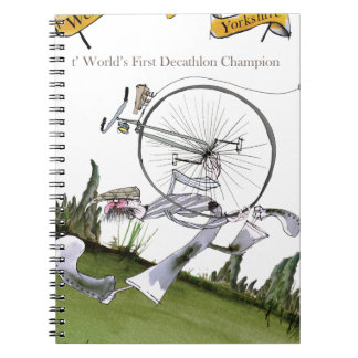 love yorkshire decathlons spiral notebook