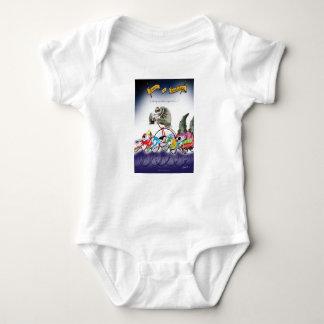 love yorkshire drop o'rain baby bodysuit