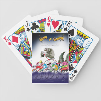 love yorkshire drop o'rain bicycle playing cards