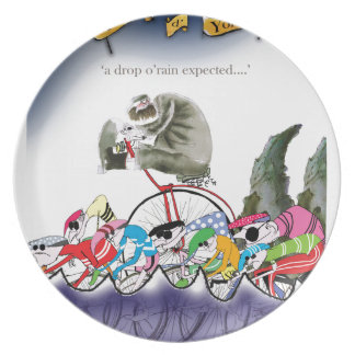 love yorkshire drop o'rain plate