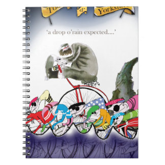 love yorkshire drop o'rain spiral notebook