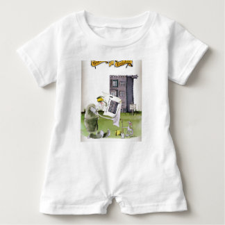 love yorkshire 'ey up, jobs a good 'un' baby romper