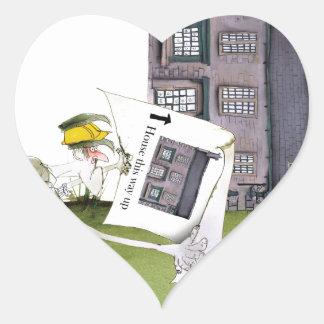 love yorkshire 'ey up, jobs a good 'un' heart sticker