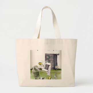 love yorkshire 'ey up, jobs a good 'un' large tote bag