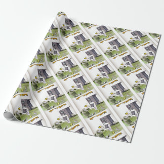 love yorkshire 'ey up, jobs a good 'un' wrapping paper
