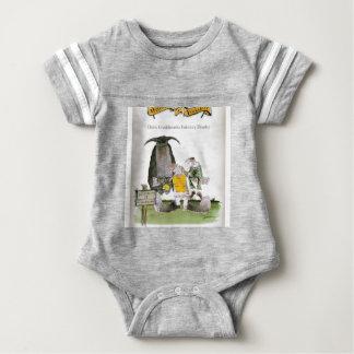 love yorkshire falconry display baby bodysuit