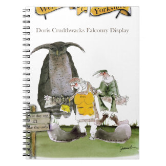 love yorkshire falconry display notebook