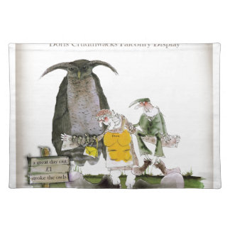 love yorkshire falconry display placemat