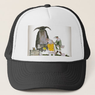 love yorkshire falconry display trucker hat