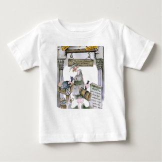 love yorkshire flat fish baby T-Shirt