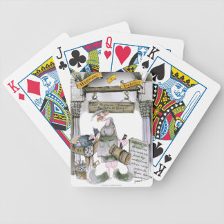 love yorkshire flat fish bicycle playing cards