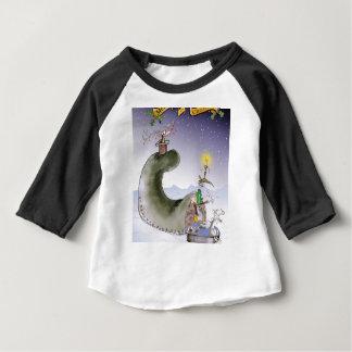 love yorkshire happy christmas baby T-Shirt