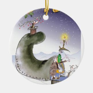love yorkshire happy christmas ceramic ornament