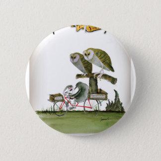 love yorkshire hostile rodent unit 2 inch round button