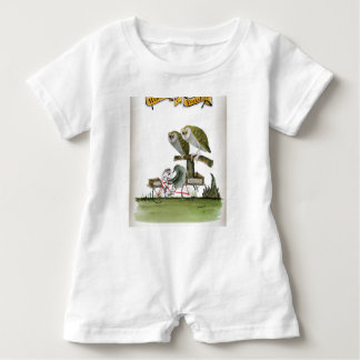 love yorkshire hostile rodent unit baby romper