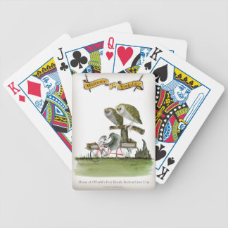 love yorkshire hostile rodent unit bicycle playing cards