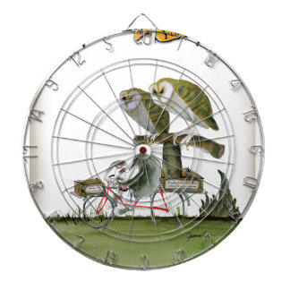 love yorkshire hostile rodent unit dartboard