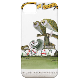 love yorkshire hostile rodent unit iPhone 5 cases