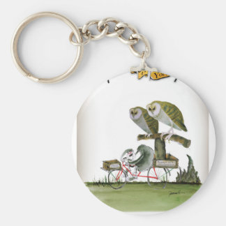 love yorkshire hostile rodent unit keychain