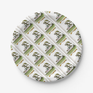 love yorkshire hostile rodent unit paper plate