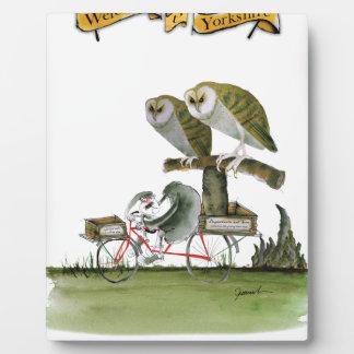 love yorkshire hostile rodent unit plaque
