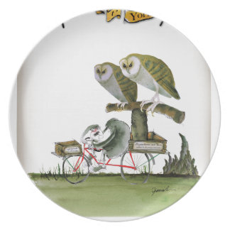 love yorkshire hostile rodent unit plate