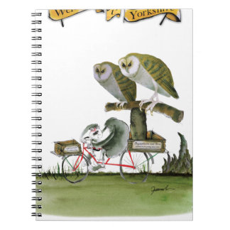 love yorkshire hostile rodent unit spiral notebook