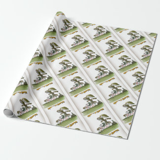 love yorkshire hostile rodent unit wrapping paper