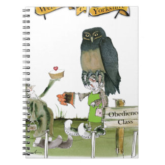 love yorkshire obedience class notebooks