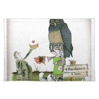 love yorkshire obedience class placemat