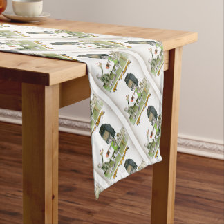 love yorkshire obedience class short table runner