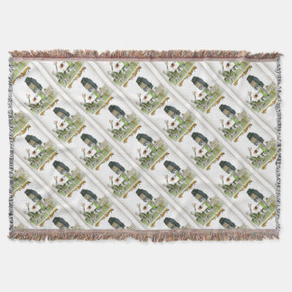 love yorkshire obedience class throw blanket