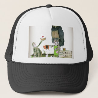 love yorkshire obedience class trucker hat