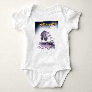 love yorkshire ol' ma ferret baby bodysuit
