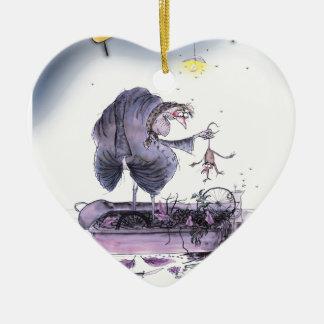 love yorkshire ol' ma ferret ceramic ornament