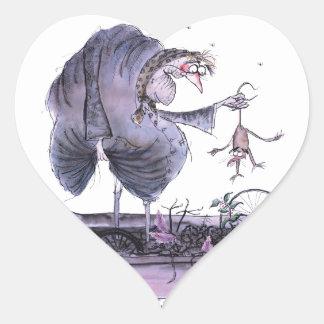 love yorkshire ol' ma ferret heart sticker