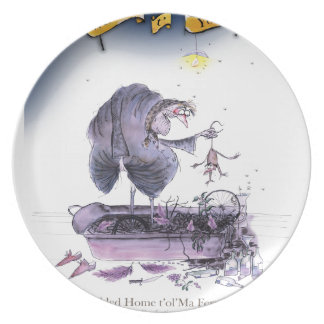 love yorkshire ol' ma ferret plate