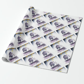 love yorkshire ol' ma ferret wrapping paper