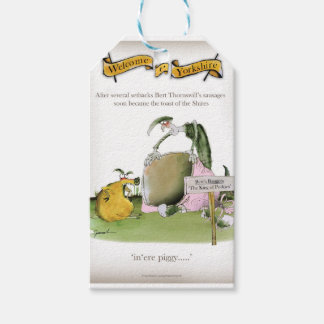 love yorkshire sausage maker gift tags