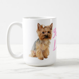 Love Yorkshire Terrier Puppy Dog  - Yorkie Coffee Mug