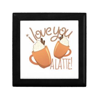 Love You A Latte Trinket Box