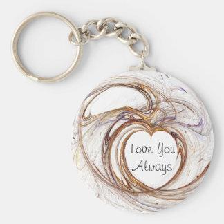 Love You Always Keychain