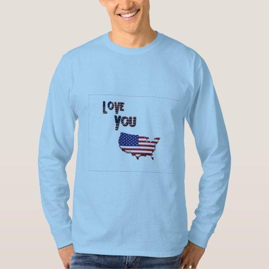 Love you America T-Shirt