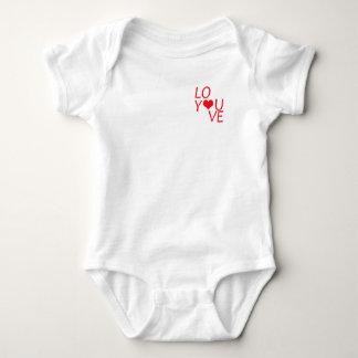 Love You baby Body Baby Bodysuit