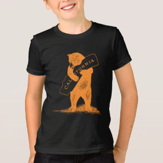 Love You California--Orange and Black T-Shirt