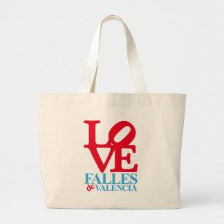 LOVE YOU FAIL SINGLE JUMBO TOTE BAG