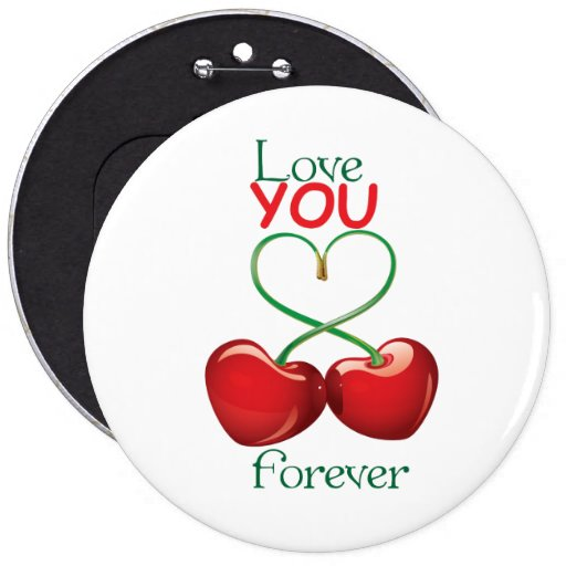 Love you forever pins