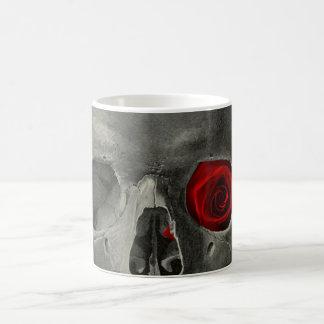 Love You Forever - skull and rose Coffee Mug